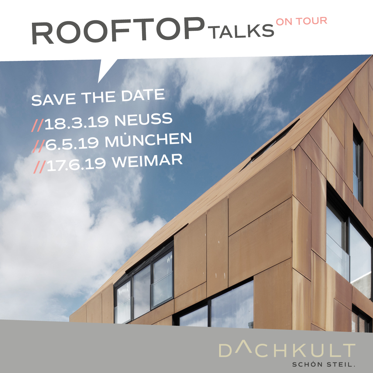 DACHKULT - Rooftop Talks on Tour